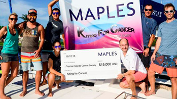 Put your brand out there and support a  worthy charity through Cayman's most  fun beach event of 2020